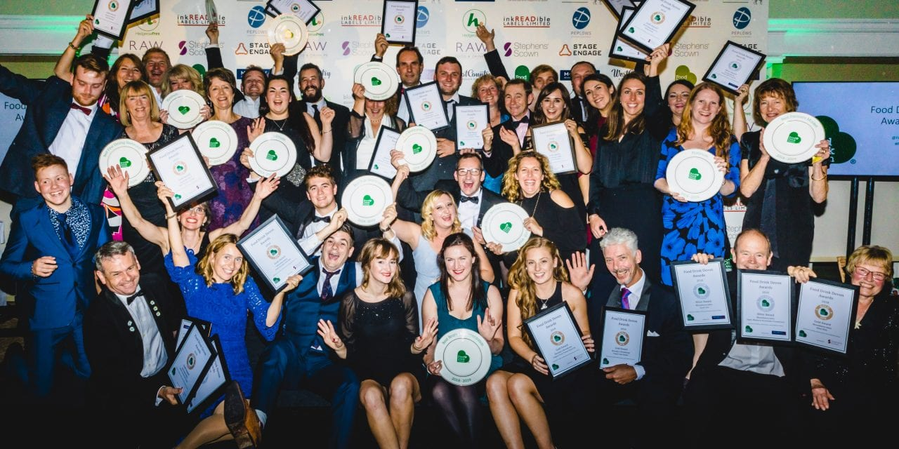 FOOD DRINK DEVON 2019 AWARDS' FINALISTS ANNOUNCED