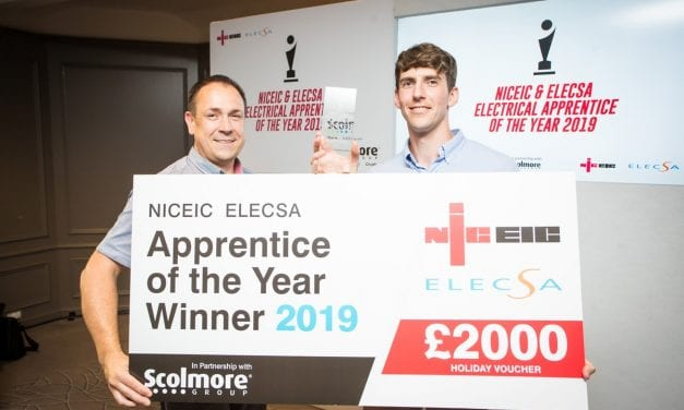 SOUTH DEVON COLLEGE –  ELECTRICAL APPRENTICE OF THE YEAR