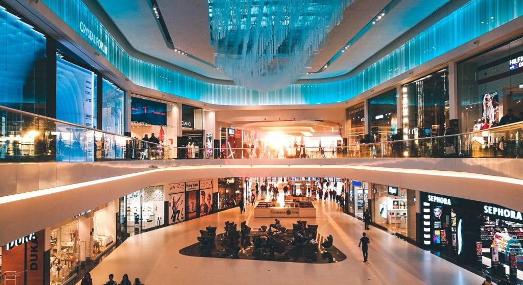 mall retail centre shops