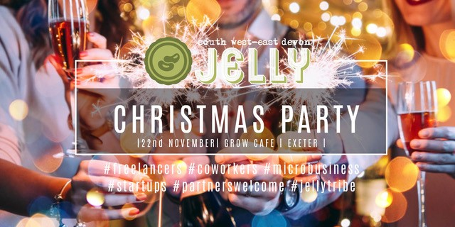jelly Christmas party poster
