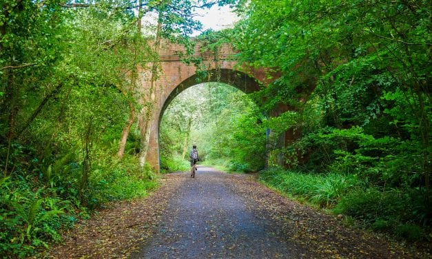 Kitiara Pascoe – A Cycle Ride Along The Old Railway To Budleigh