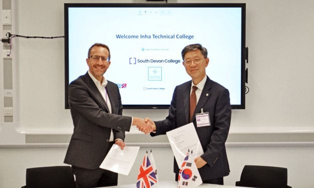 South Korean Institution Partners With South Devon College