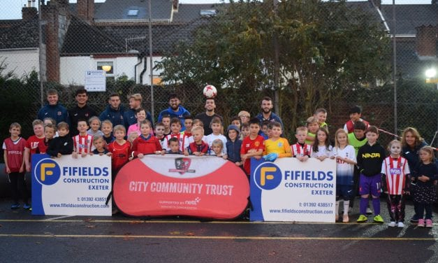CITY Community Trust Premier League Kicks Inspiring Exeter's Kids