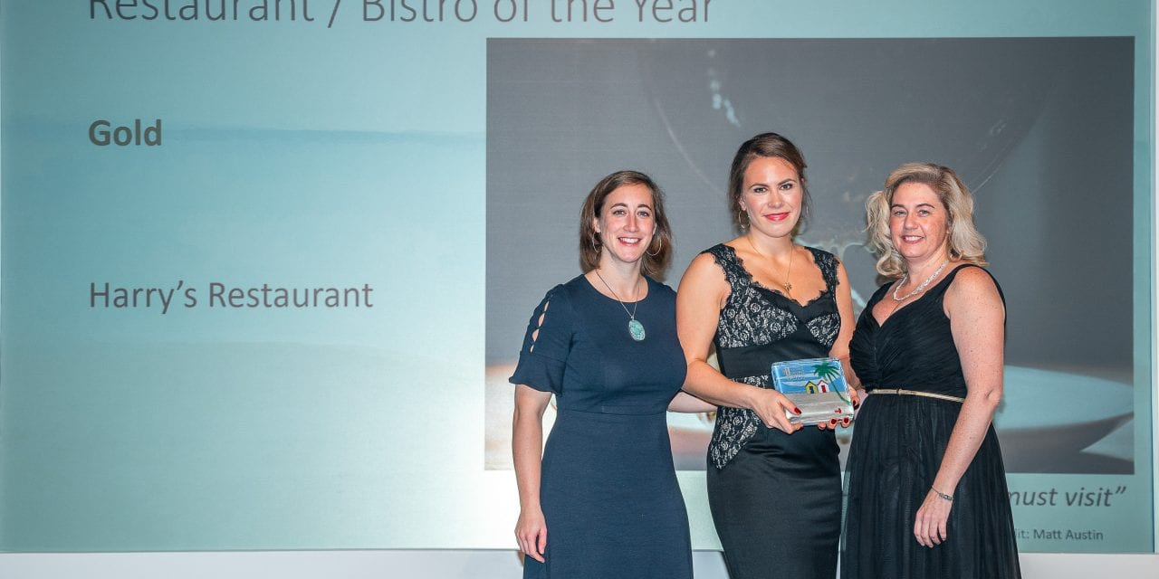 Harry's Restaurant Bags Gold In The Devon Tourism Awards 2019