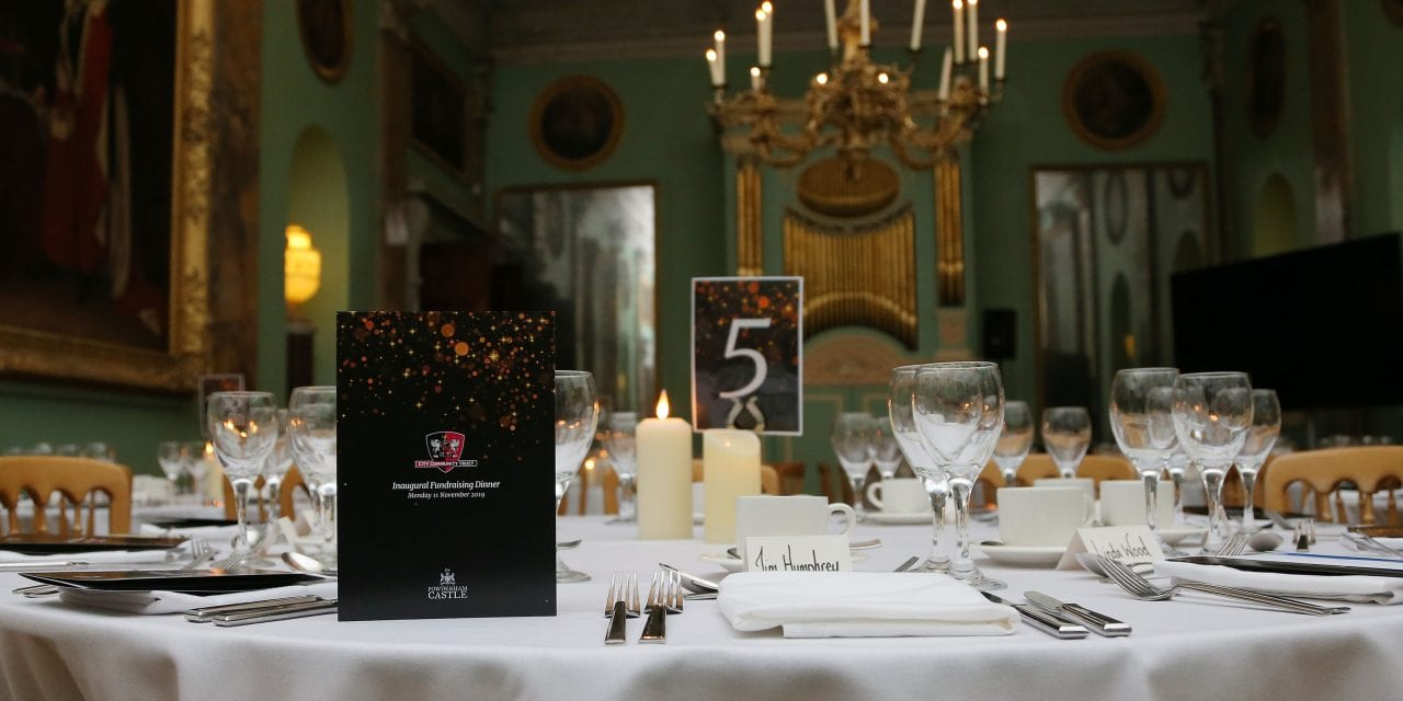 Powderham Castle Hosts Inaugural CITY Community Trust Dinner