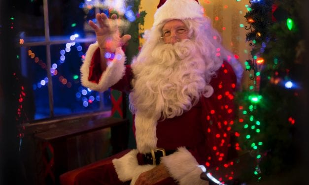 Santa Bus Spreads Christmas Cheer Across The South West