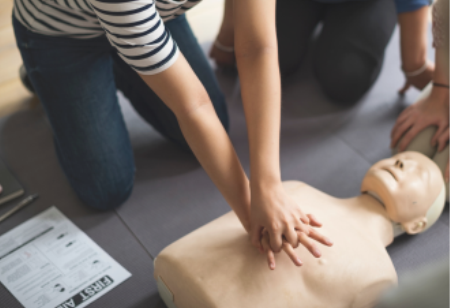 libraries first aid doll