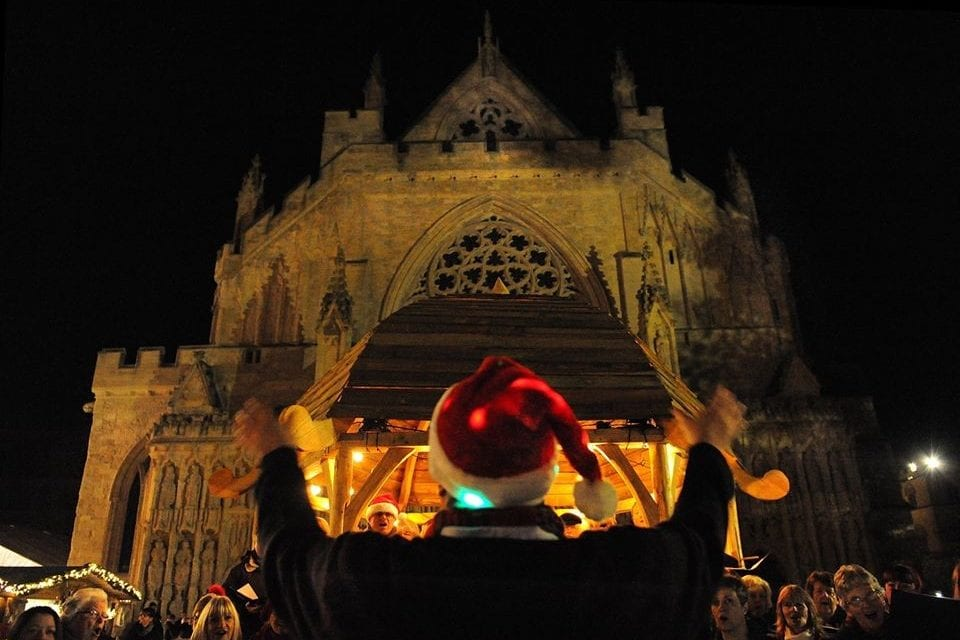 Devon's Big Noise Chorus Performing At Exeter Cathedral