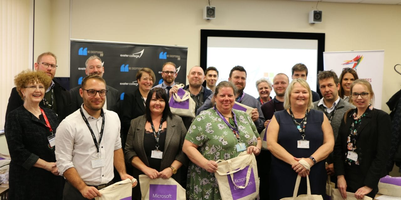 Exeter College Celebrates Microsoft Innovative Educators