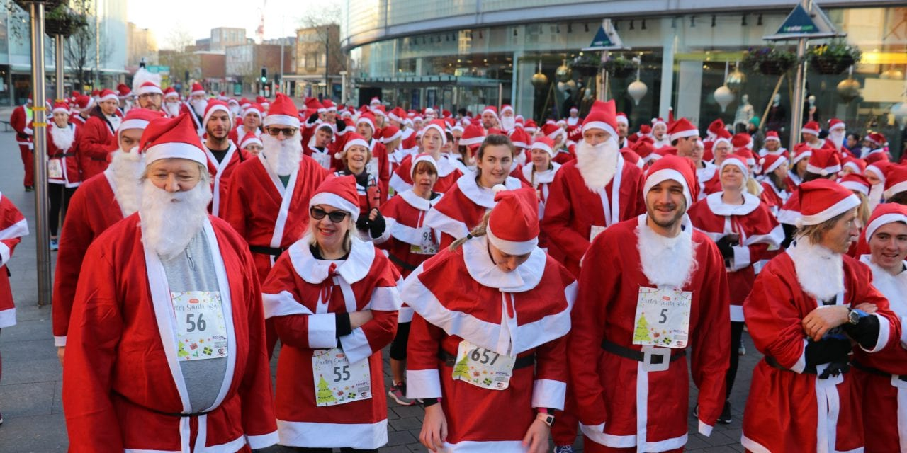City Centre Santa Takeover Is A Spectacle