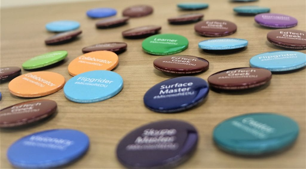 microsoft exeter college badges