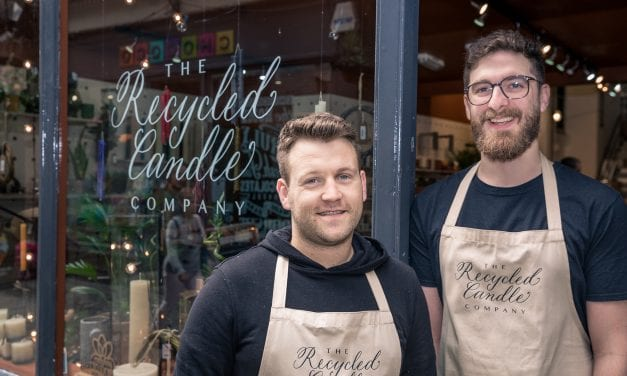 Recycled Candle Co. Offers Last Minute Shopping Help For Chaps!