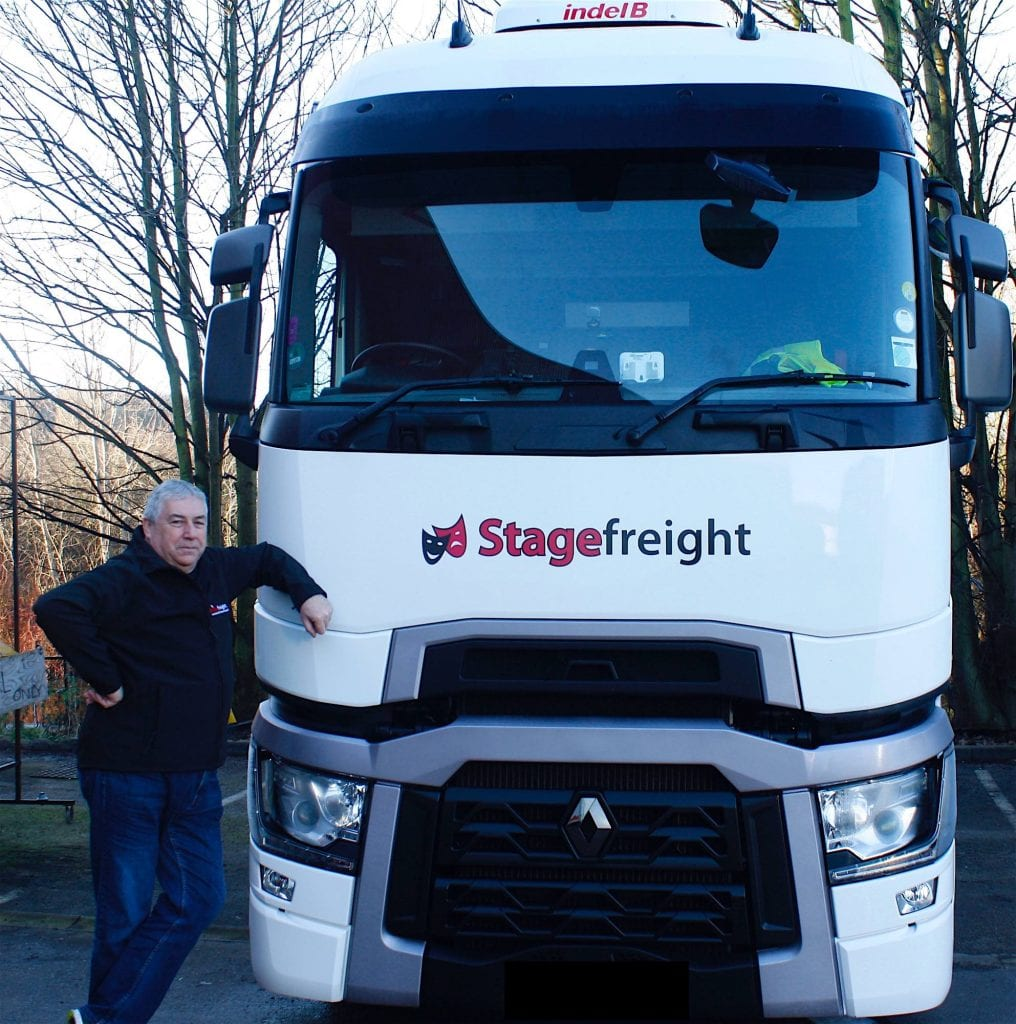 transport man lorry stagefreight
