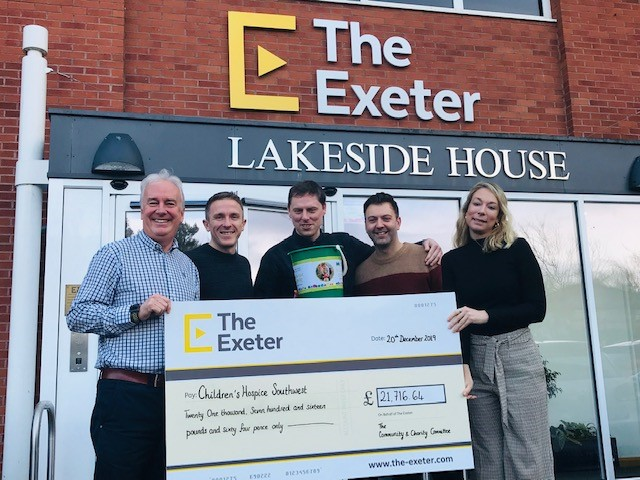 Exeter Insurance Firm's Incredible Fundraising Year