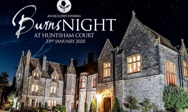 Huntsham Court – Liven Up January With Burns Night Supper For Hospiscare