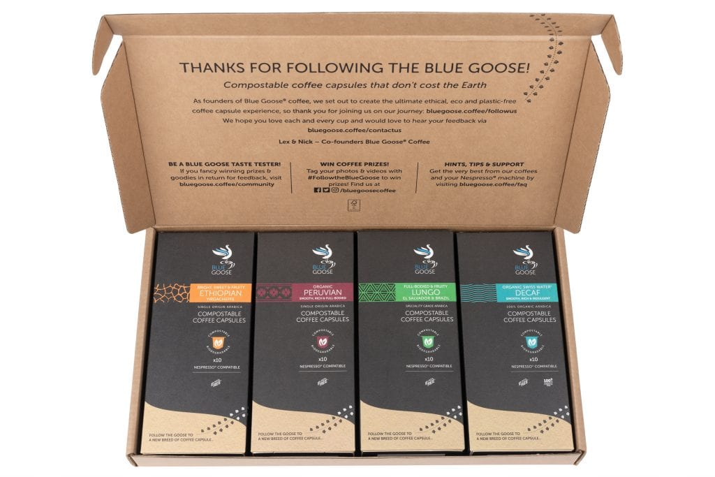 blue goose coffee box lex thornely