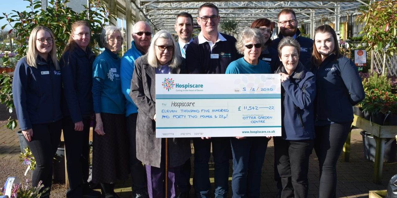 Garden Centre Raises Impressive Total For Hospiscare