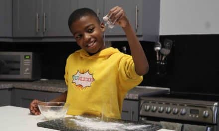 Youngest Award-Winning Chef Supports CHICKS Emergency Appeal