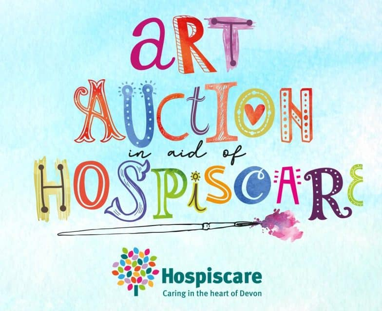 Exmouth Local's Art Auction In Aid Of Hospiscare Goes Viral
