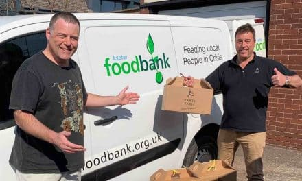 Darts Farm Exceed Their Charity Target For Exeter Foodbank