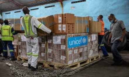 The EU and Belgium Support UNICEF in Shipping Vital Supplies to the Democratic Republic of the Congo