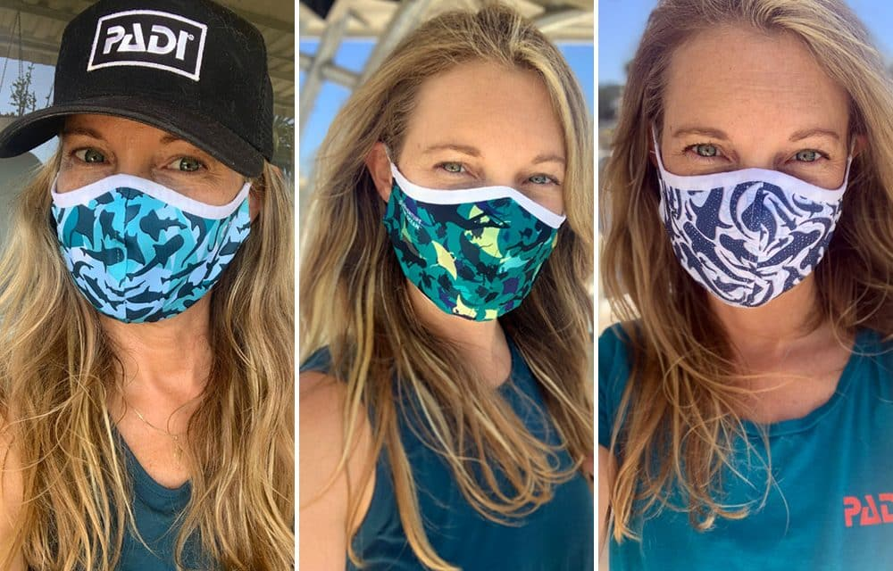 WORLD'S LARGEST DIVER TRAINING ORGANISATION INTRODUCES FACE MASKS MADE FROM RECYCLED OCEAN PLASTIC