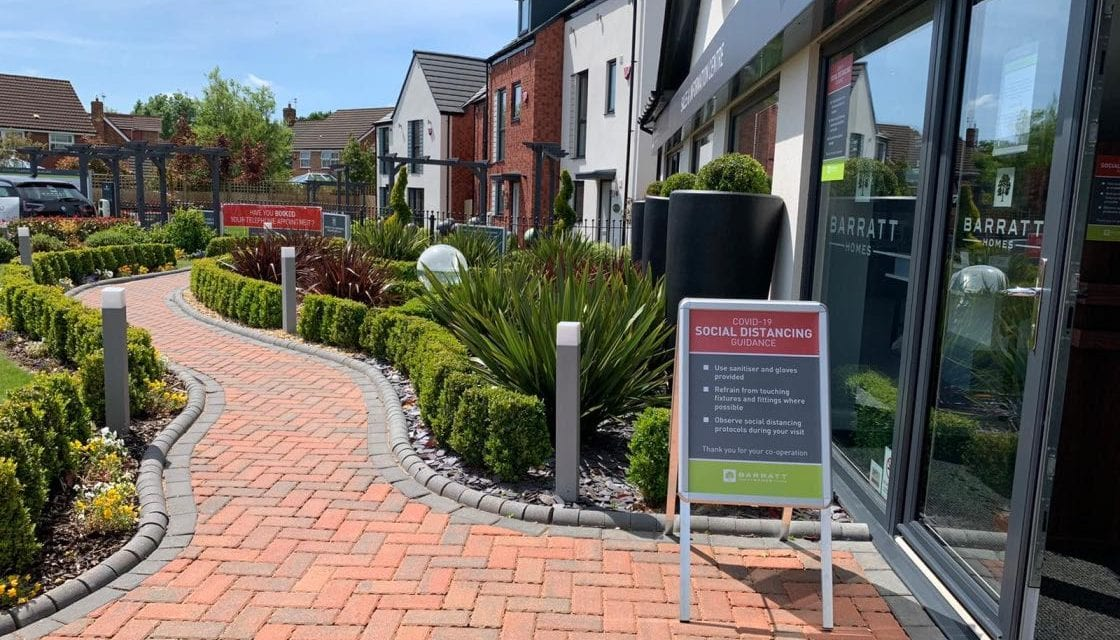 Barratt Developments To Re-Open South West Sales Offices And Show Rooms