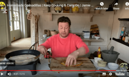 HOMEMADE QUESADILLAS WITH JAMIE OLIVER