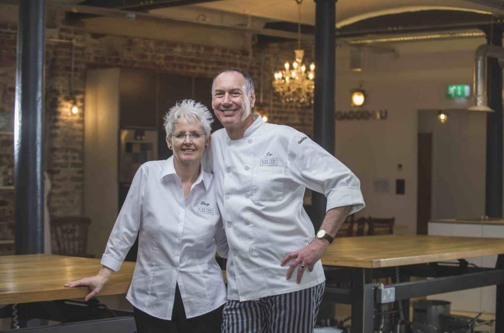food drink devon speaks up exeter cookery school owners woman man