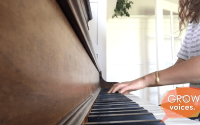 Piano therapy // Grow Voices // Ollie Dixon