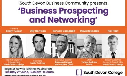 South Devon College Webinar To Help Improve Your Business Networking