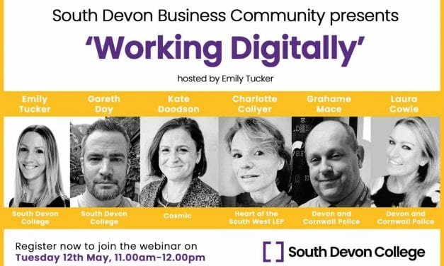 South Devon College Webinar To Support Businesses