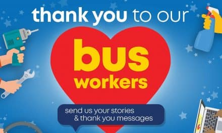 Stagecoach South West Mark Bus And Coach worker Support Day