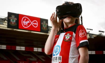 Young Visually Impaired Southampton Fans See Their Football Heroes Clearly For The First Time