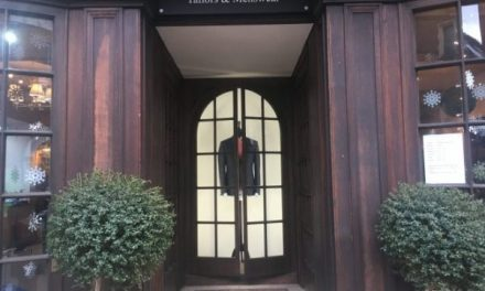 Savile Row's First Female Tailor Re-opens On Emotional First Day