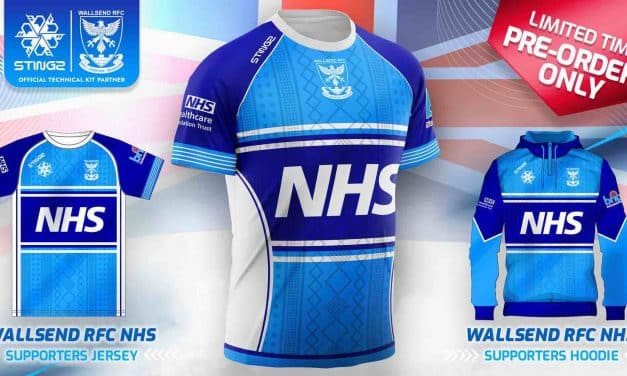 Devon-Based Sportswear Brand Launch NHS Charity Rugby Kit