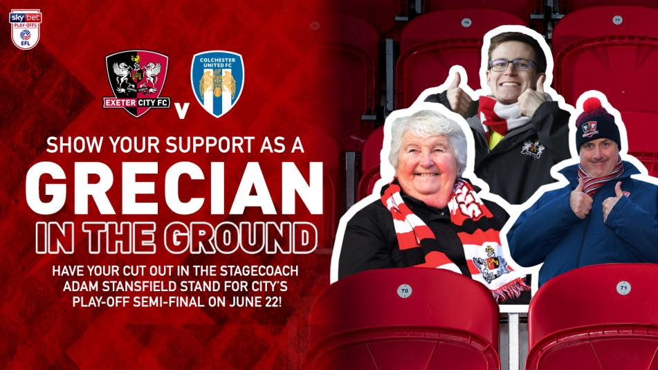 Get Your Face In The Exeter City FC Crowd!
