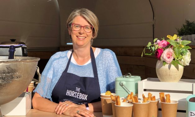 The Devon Vicar Loving Her Neigh-bours by Opening New Community Horsebox Café