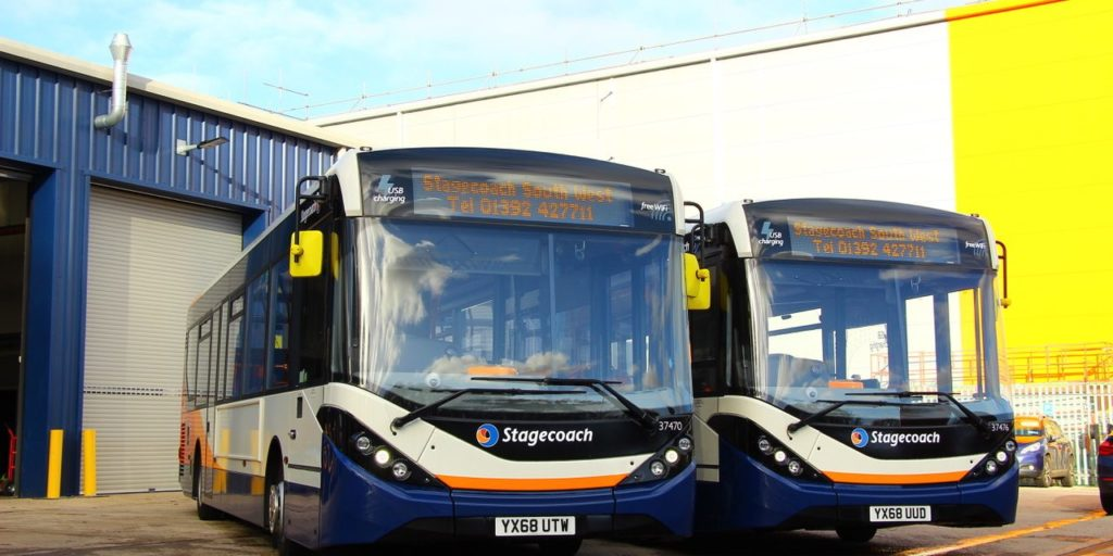 Stagecoach First Woman Managing Director