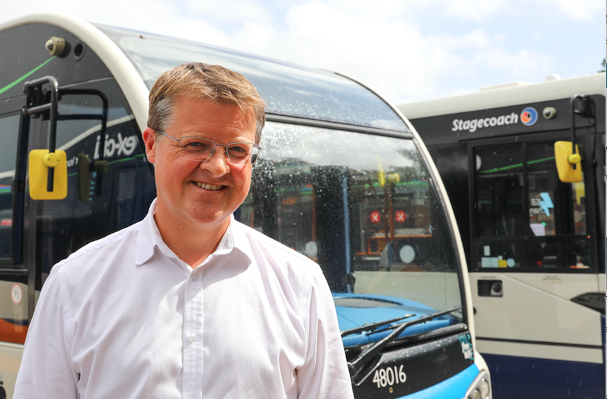 Bus timetable changes Stagecoach SW