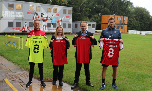 Good News as Exeter City Secures Back-Of-Shirt Sponsor