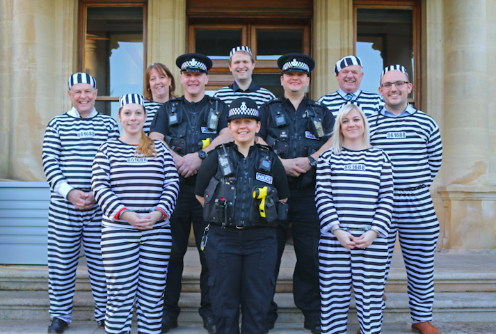 BUSINESS 'CONVICTS' RAISE BAIL FOR ROWCROFT HOSPICE