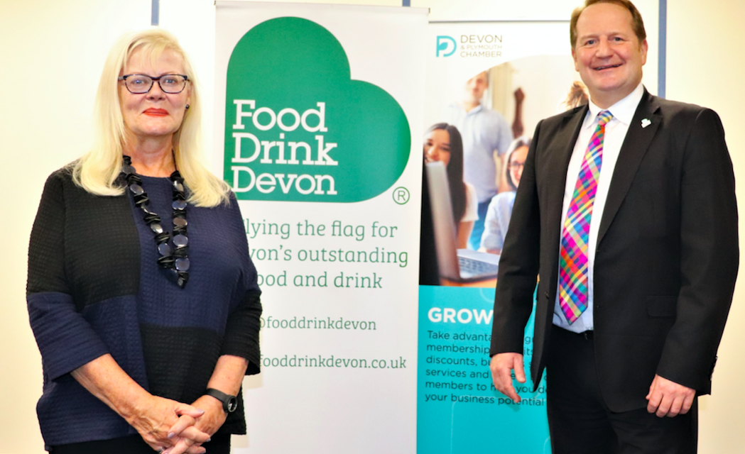 FOOD DRINK DEVON JOINS FORCES WITH DEVON & PLYMOUTH CHAMBER OF COMMERCE