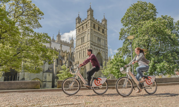 CO BIKES HEADS ACROSS RIVER WITH THEIR LATEST ELECTRIC BIKE STATION