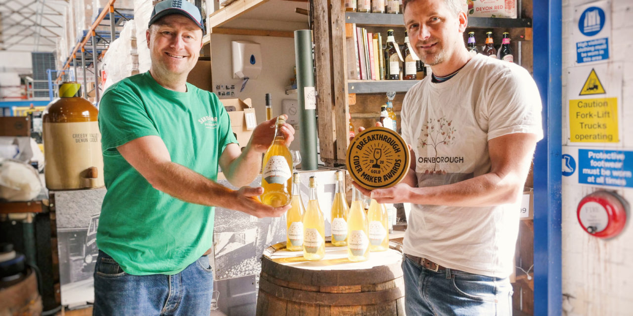 UNIQUE CIDER AWARDS SUPPORT THE FUTURE OF CIDER IN THE UK