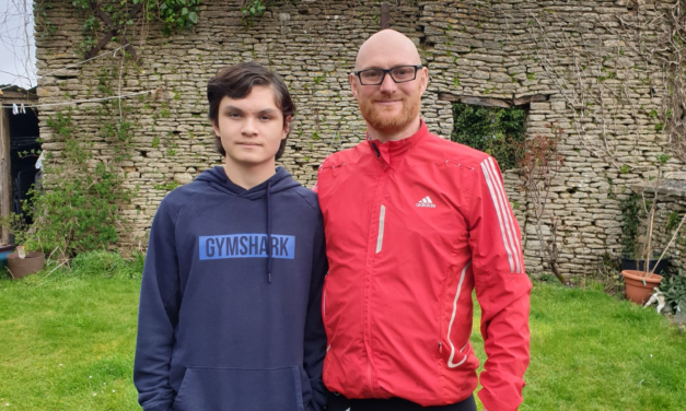 Dad Takes On 100 Mile Challenge To Raise Funds For Son's Deaf Academy