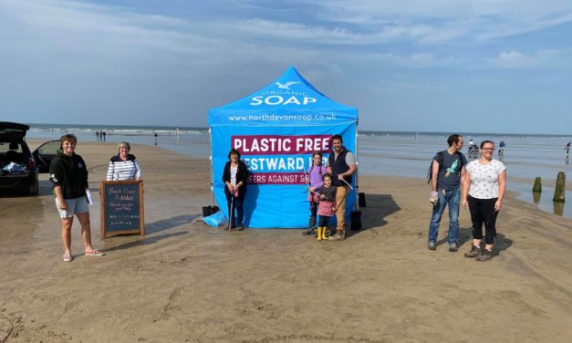 Plastic Waste From Westward Ho! Beach To Create New Toys