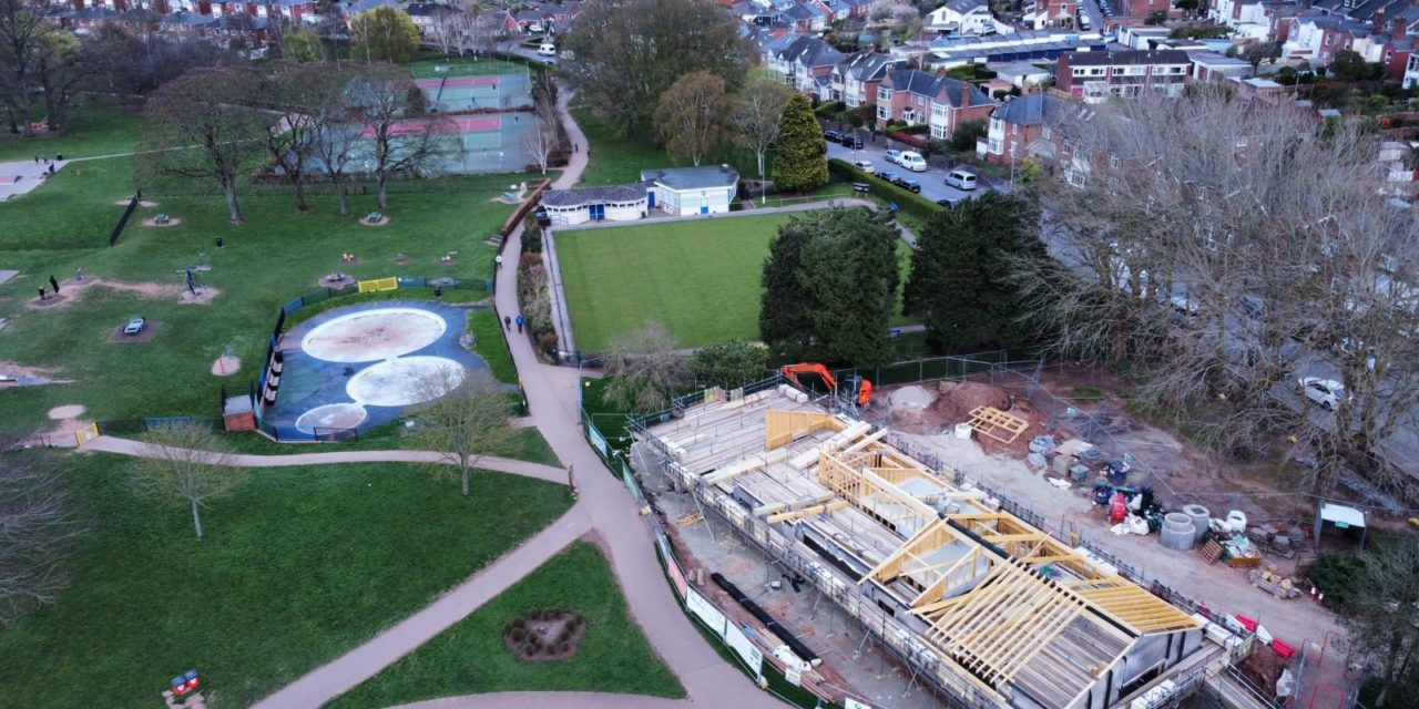 Park Life Heavitree Recruit Cafe Manager As The Build Passes Half Way Point