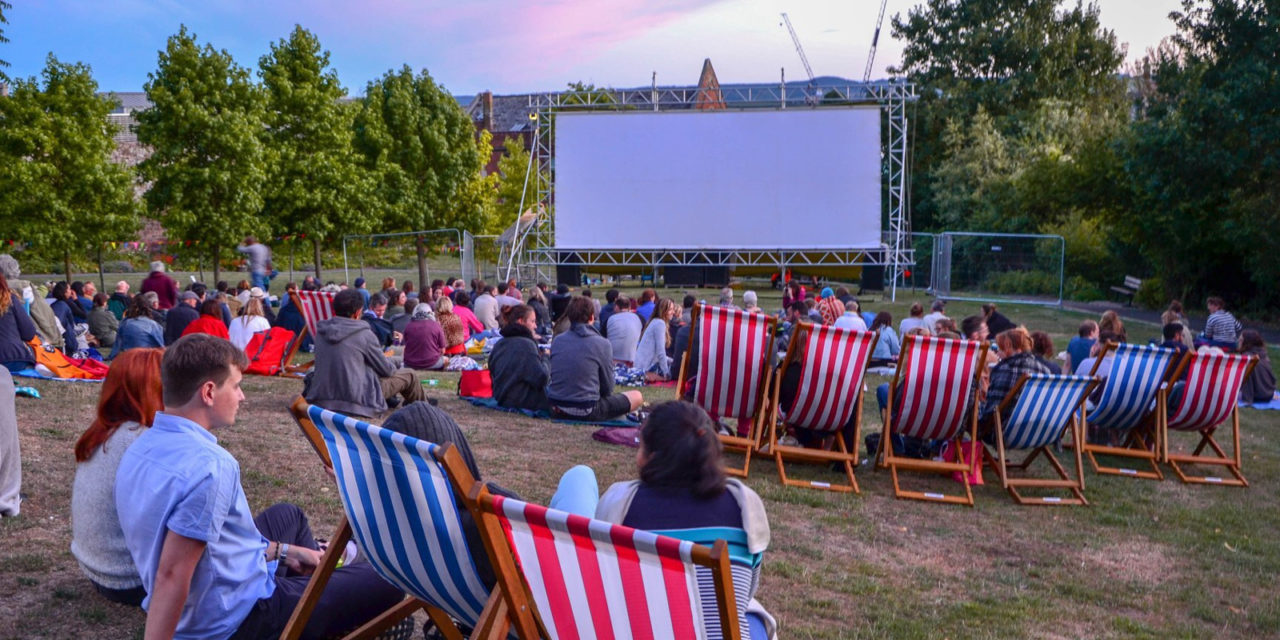 Outdoor Cinema Comes To Exeter as Big Screen In The Park Returns!