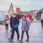 Festivalgoers Dodged the Showers to AttendExeter'sFirst EverGuildfestRooftop Market Festival